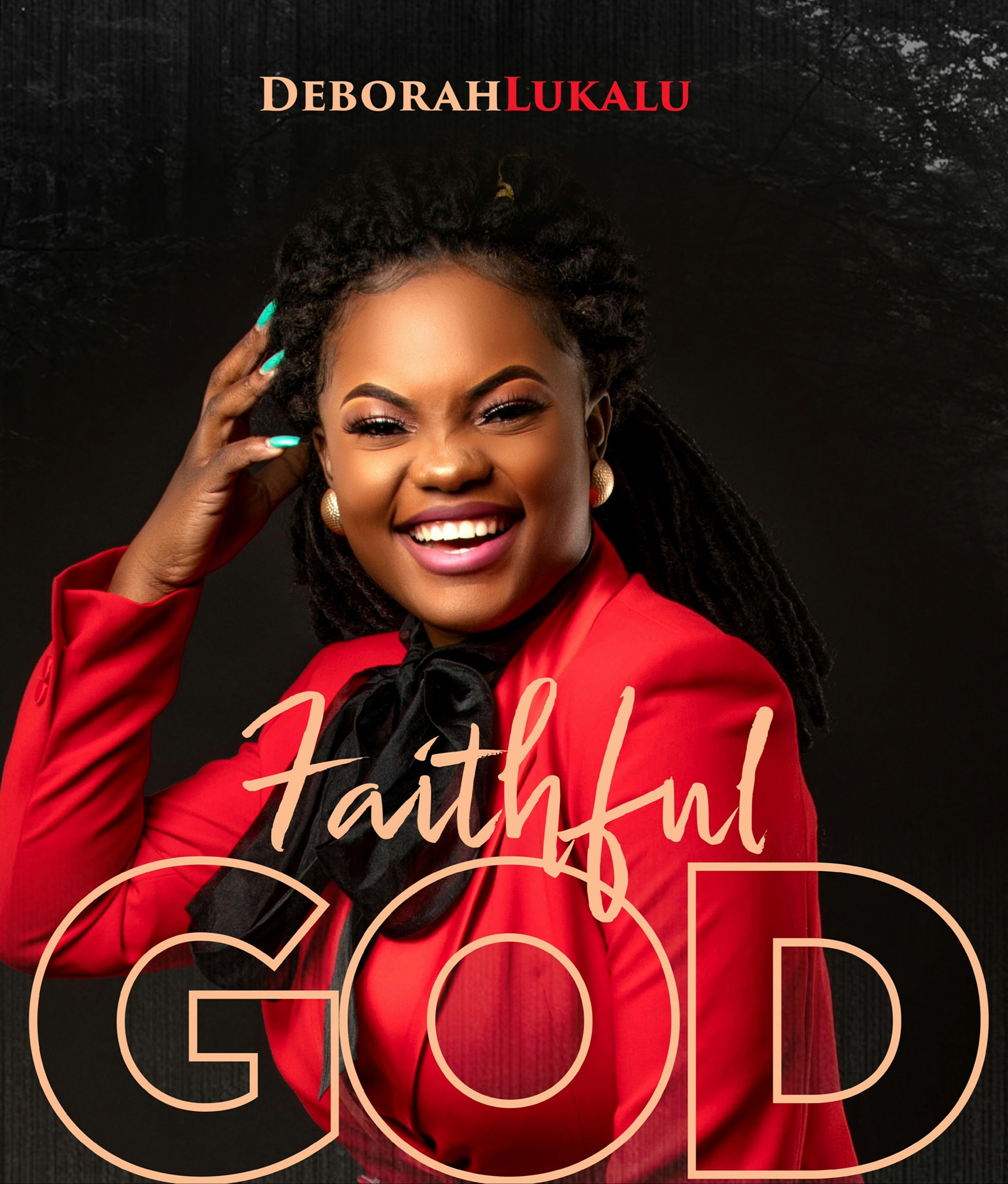 Deborah Lukalu sort, « FAITHFUL GOD ».