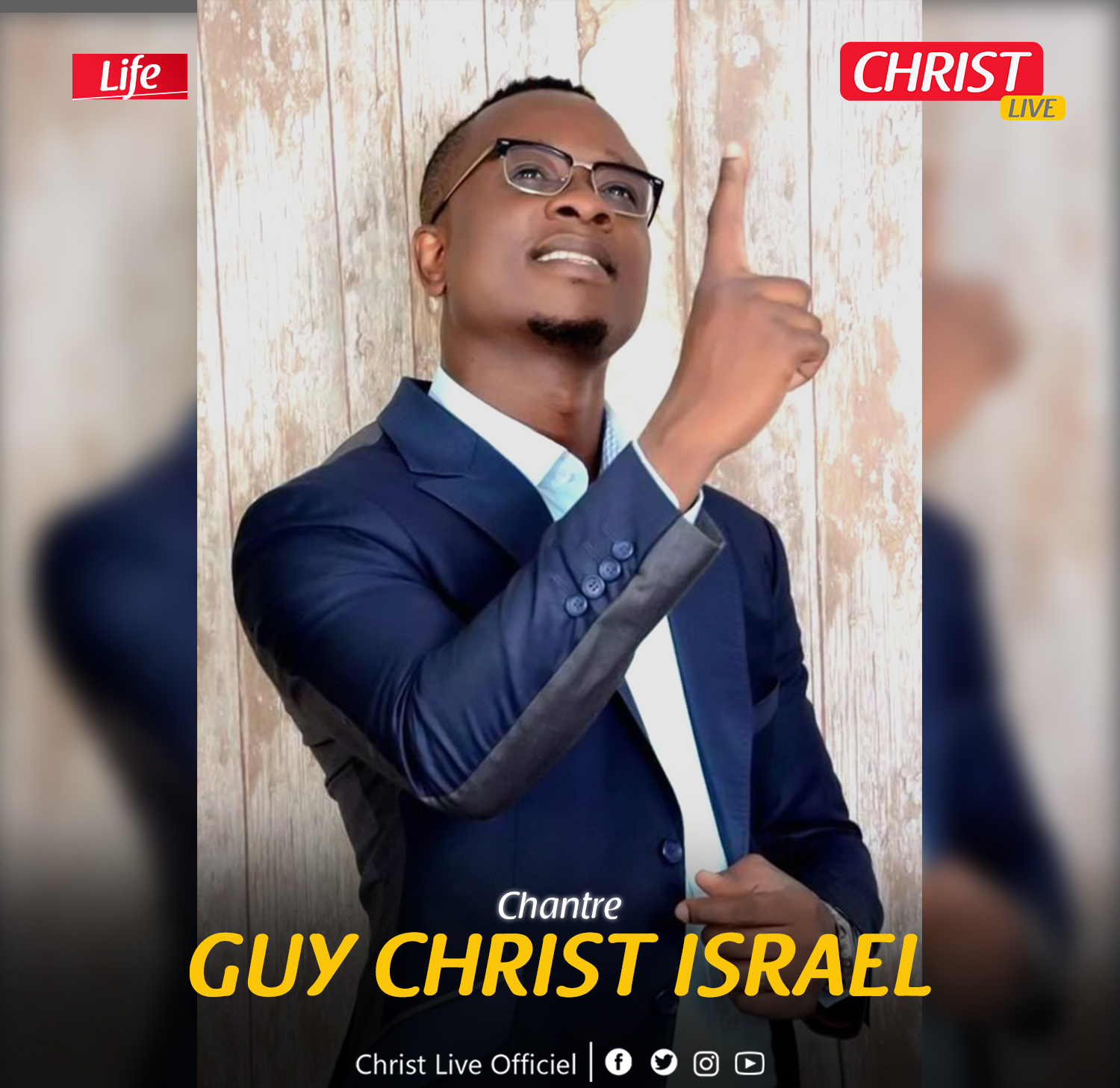 Guy Christ Israël, un véritable don pour l'adoration.