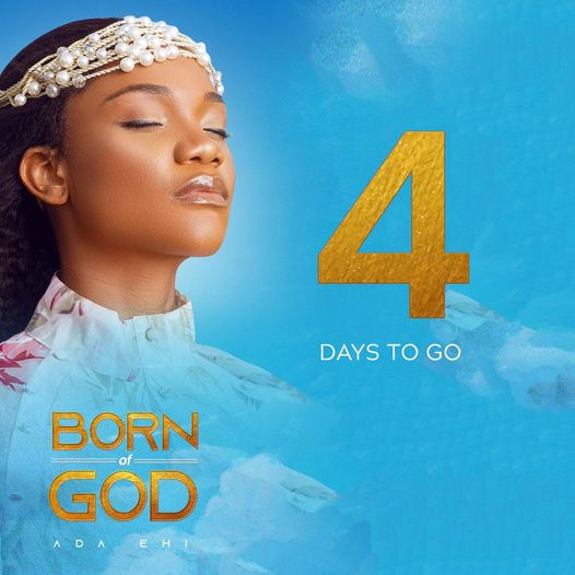 Ada Ehi annonce, « Born of God ».