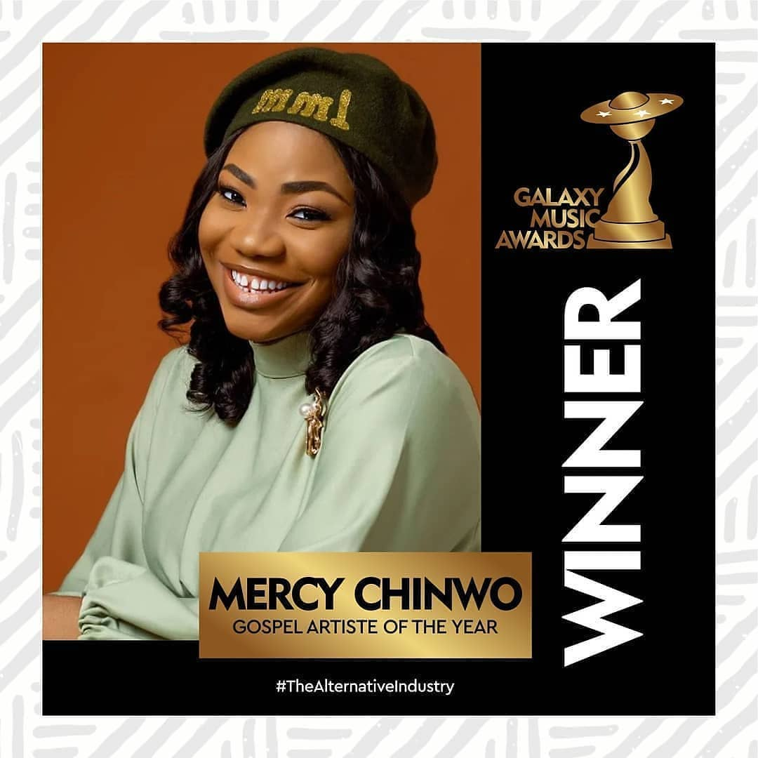 Mercy Chinwo, Meilleur Gospel Acte GMA 2020.