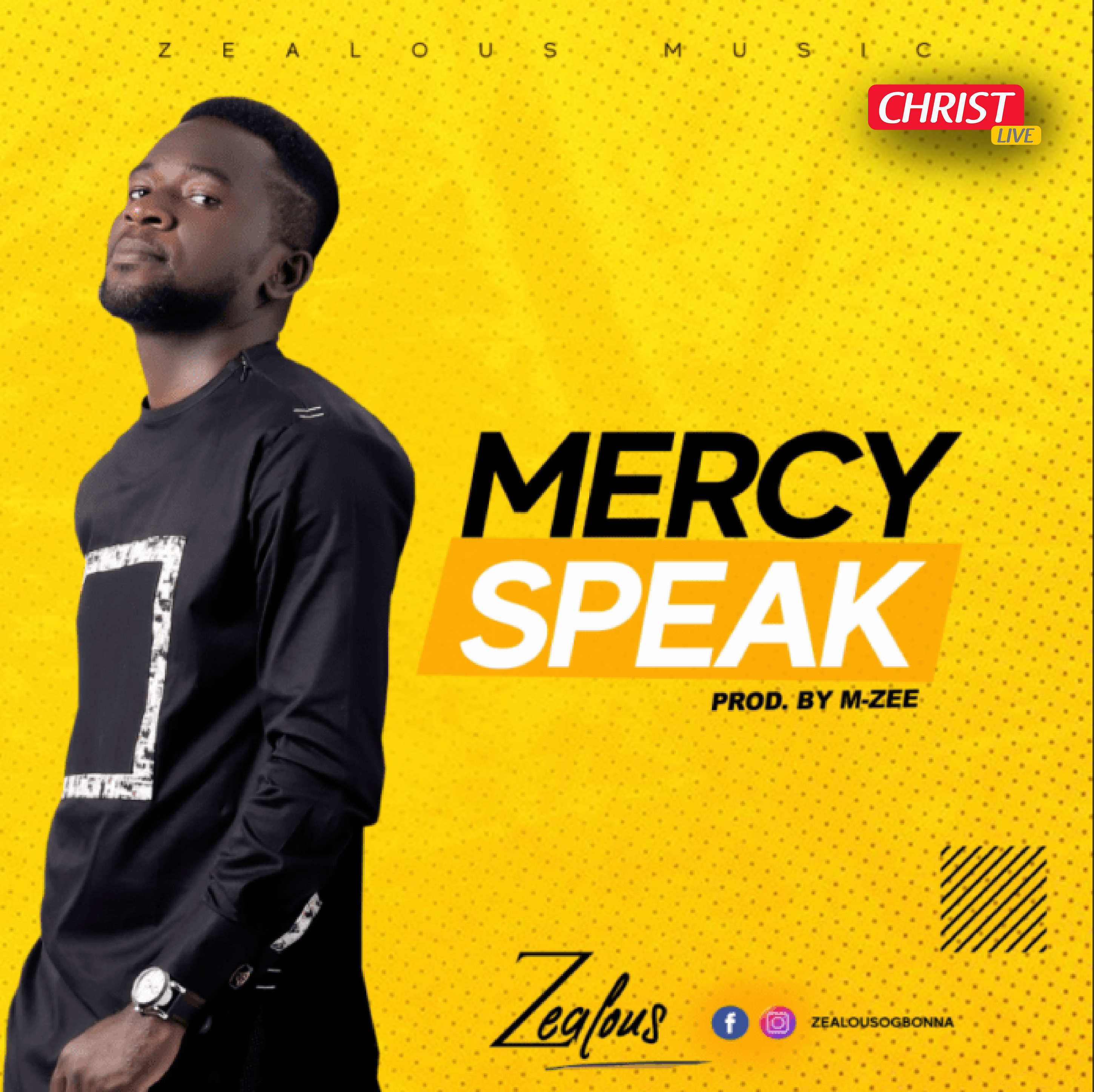 « Mercy Speak » le nouveau single de Zealous est là !