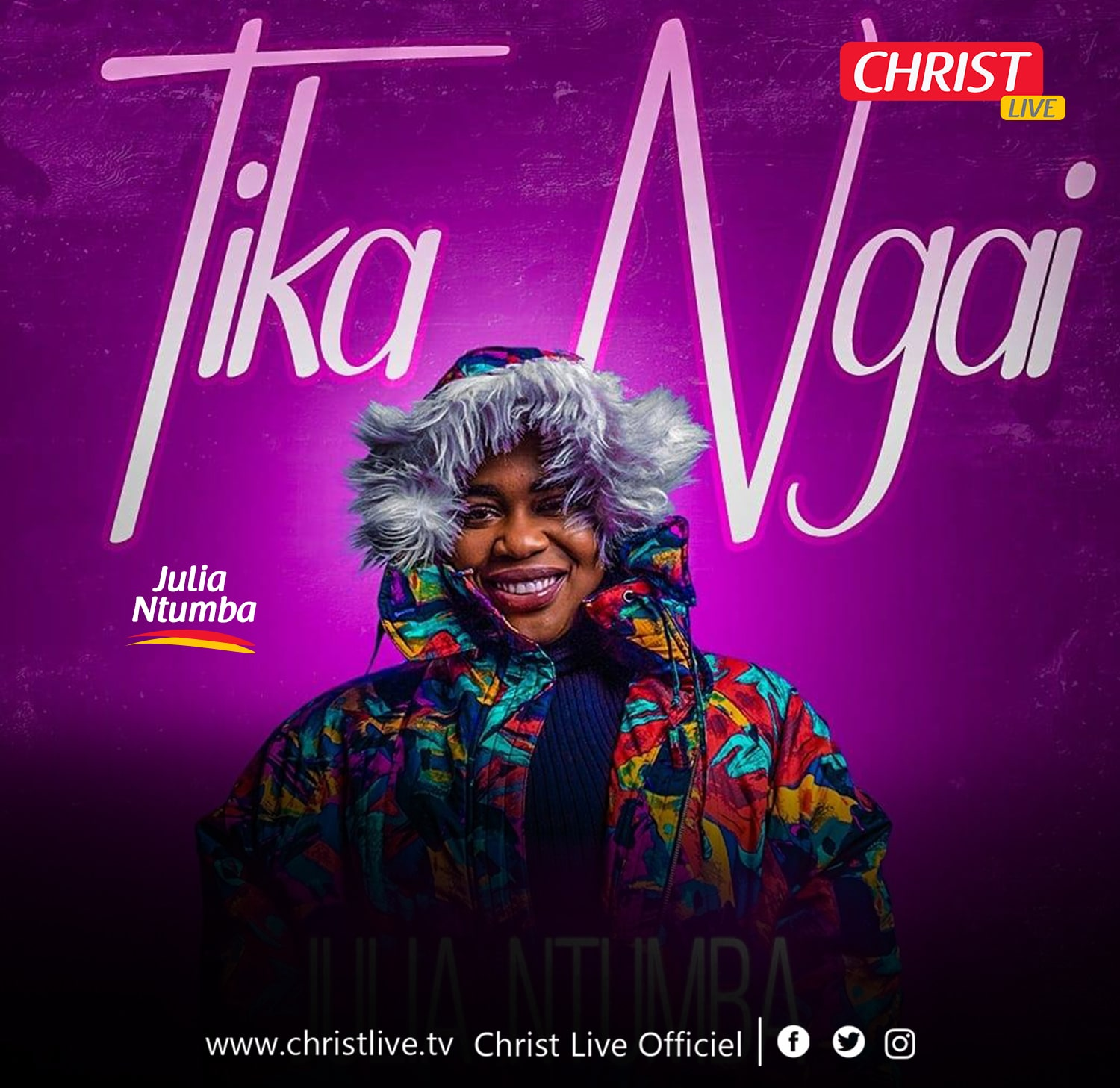 Julia Ntumba : « Tika Ngai », nouveau single.